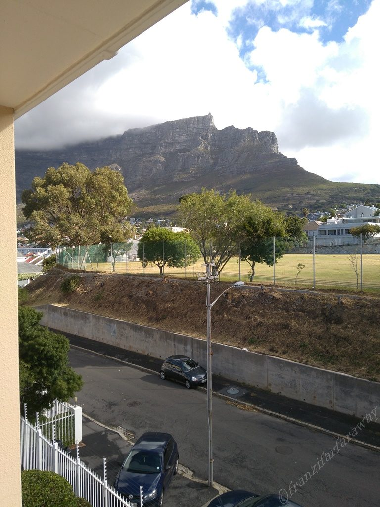 The mountains of Cape Town