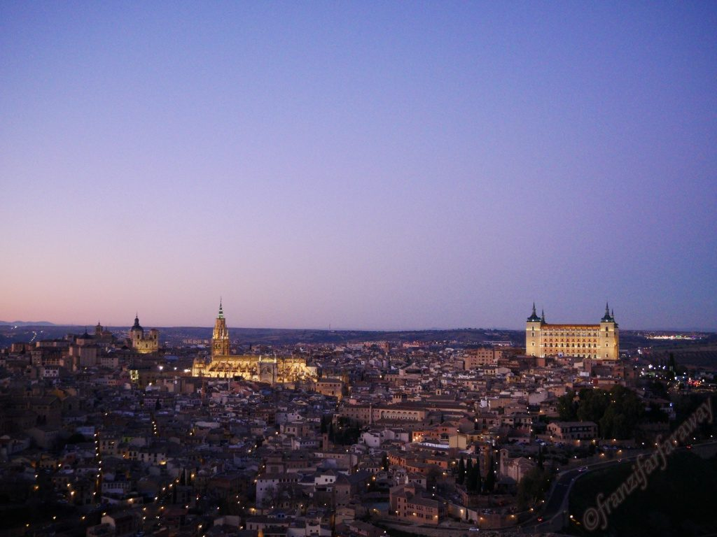 About Madrid and Toledo