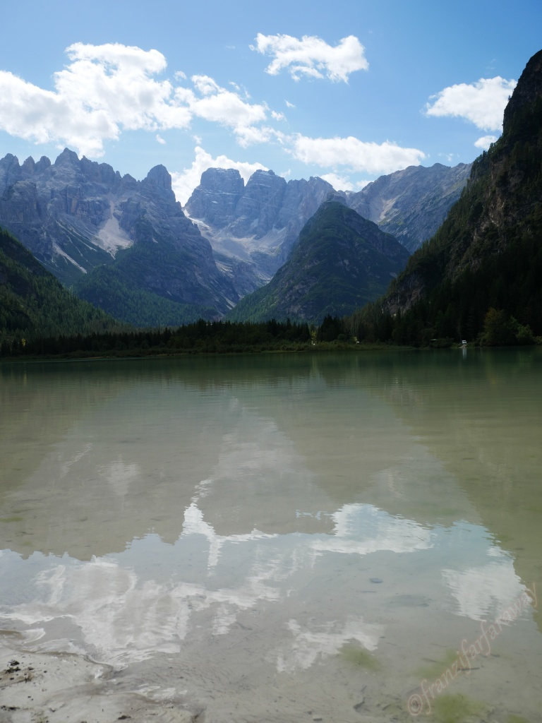 Hiking in the Dolomites