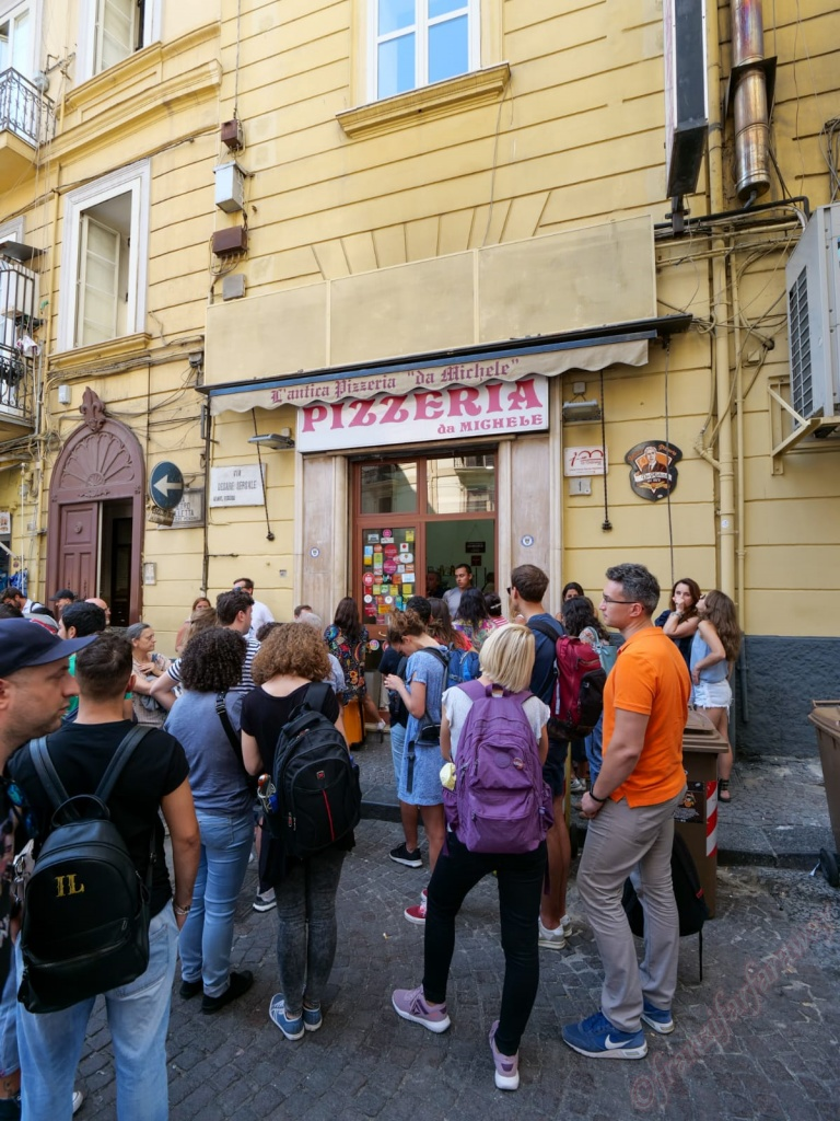 Naples - the home of pizza